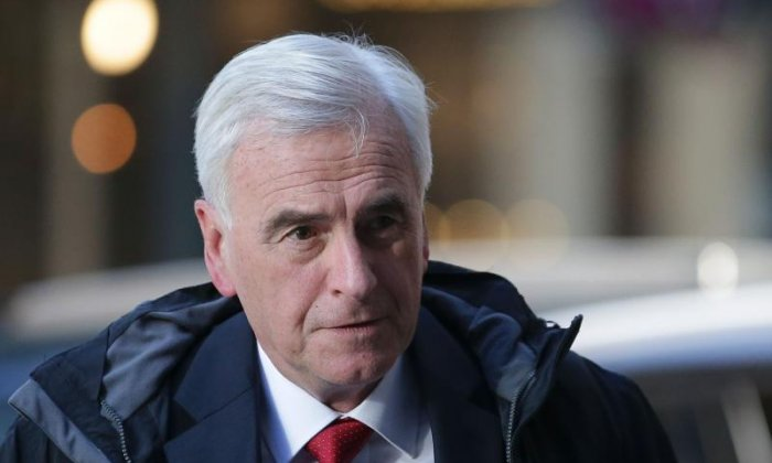 Election 2017: John McDonnell blasts Theresa May for putting 'party before country'