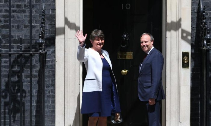 DUP reportedly broke off Tory talks following £2bn demand for Northern Ireland