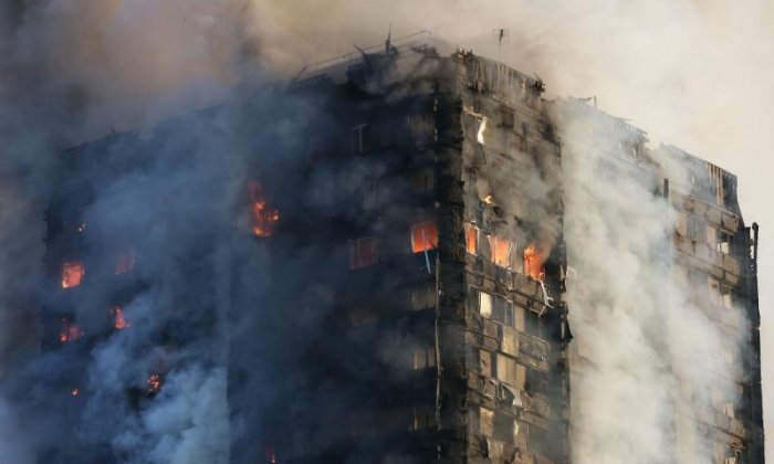 'Firefighters were just as amazed as the public at the speed Grenfell Tower fire spread' says Fire Brigades Union