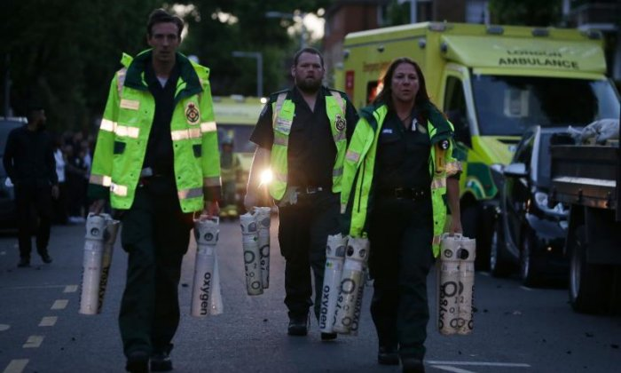 Search for Grenfell Tower victims continues as police fear death toll increasing