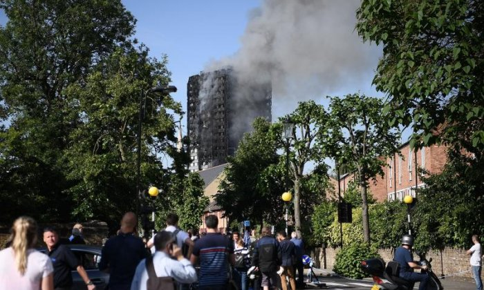 Witness tells harrowing account of Grenfell Tower fire