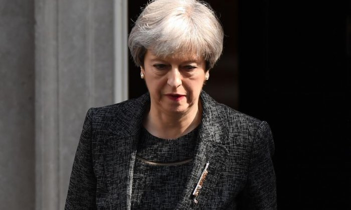 Theresa May apologises for failure of state and poor support for Grenfell Tower fire victims