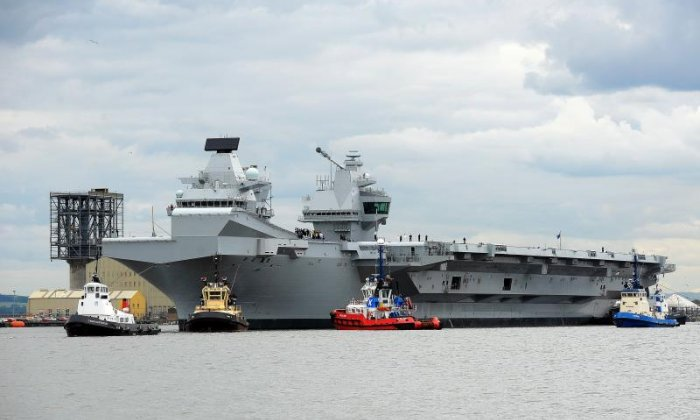 HMS Queen Elizabeth could be vulnerable to cyber attacks