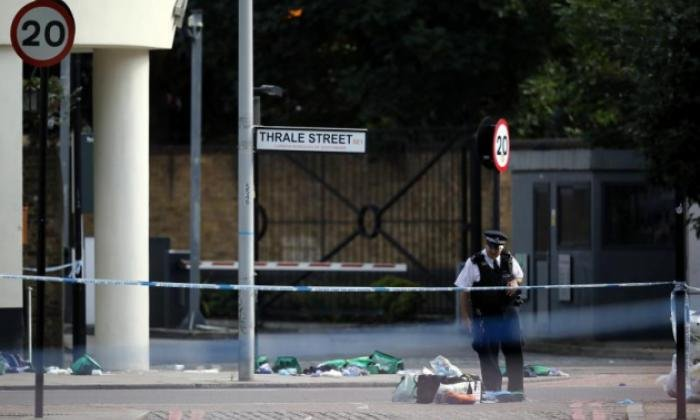London Bridge was the scene of carnage last night, as Britain's capital was thrown into turmoil once again
