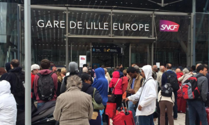 Eurostar station evacuated after suspicious package is found