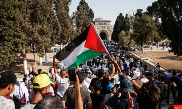 The Al-Aqsa mosque has been the seen of major protests in recent days