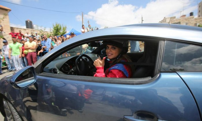 First all-female racing team created in the West Bank