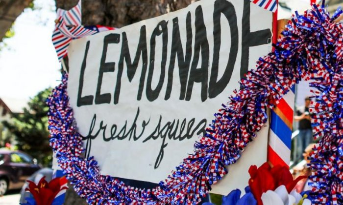 'Council sent four officials to tell five-year-old she couldn't sell lemonade on the street', says father