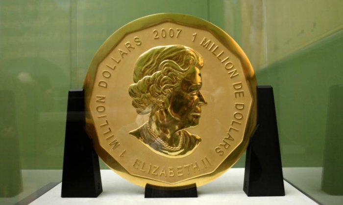 Four arrested including security guard over theft of 100kg commemorative coin in Germany