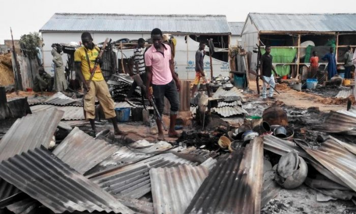Boko Haram: Four suicide bombers kill 19 and injure at least 23 in Nigeria