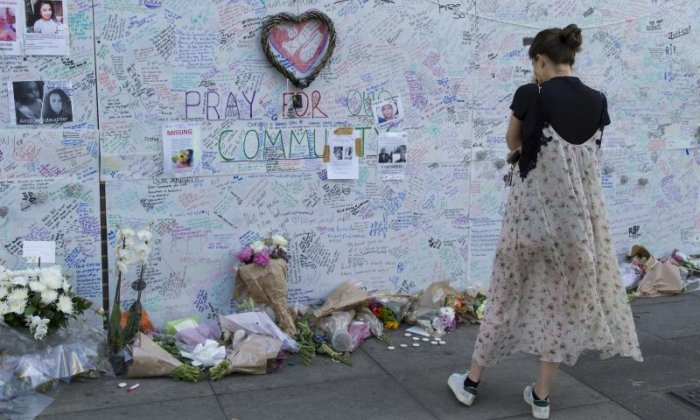 Grenfell Tower: 'The community must stick together and stay away from aggression', says local resident