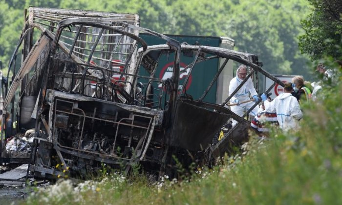 '17 people unaccounted for' after bus crash in Germany