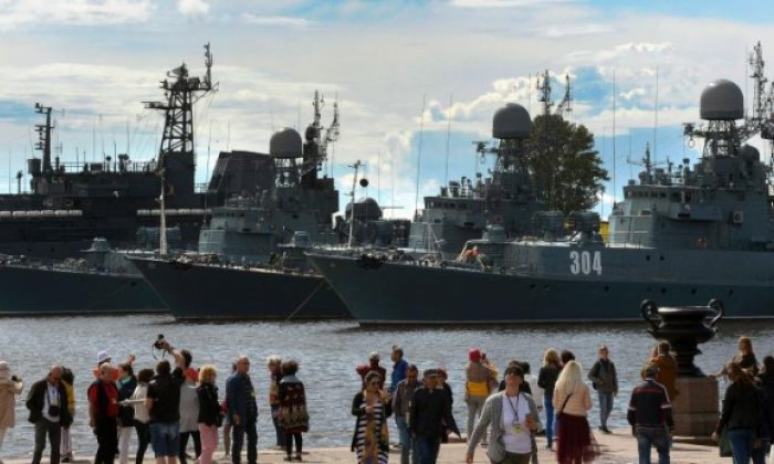 Russian warships set sail despite growing tension with NATO
