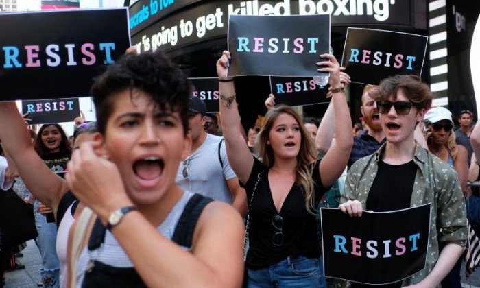 'Donald Trump's transgender military announcement is probably a smokescreen for his administration', says Stephanie Hirst