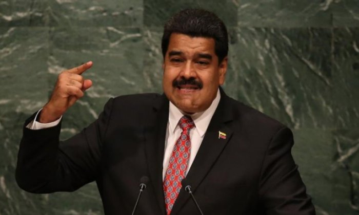 Nicolas Maduro, seen here in 2015, used his own TV show to warn of further reprisals