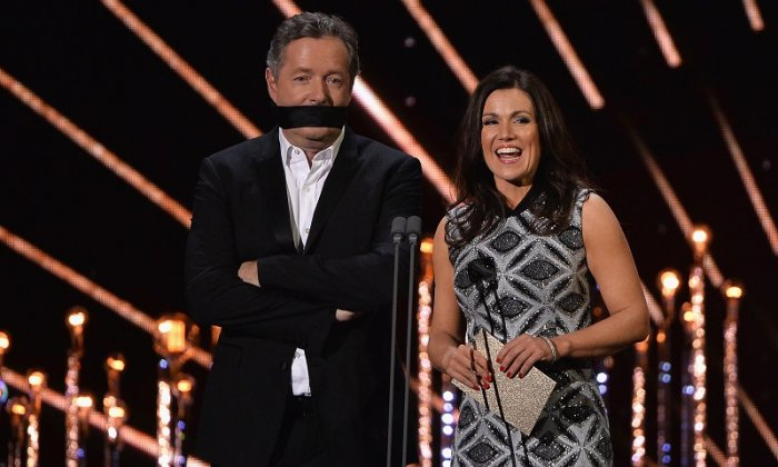 Susanna Reid was rather taken aback when asked whether she takes home the same as co-star Piers Morgan