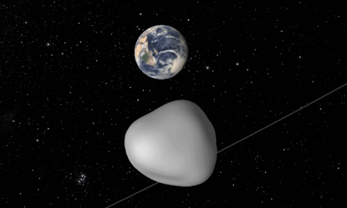 Asteroid in Earth flyby to be used by NASA to test 'planetary defence system'