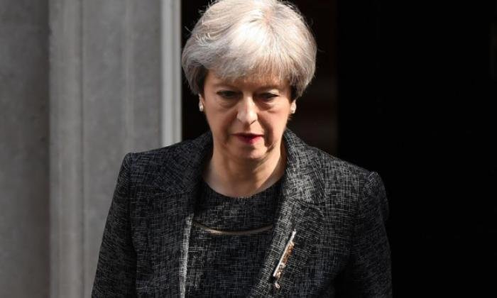 Theresa May lost her majority in the election last month