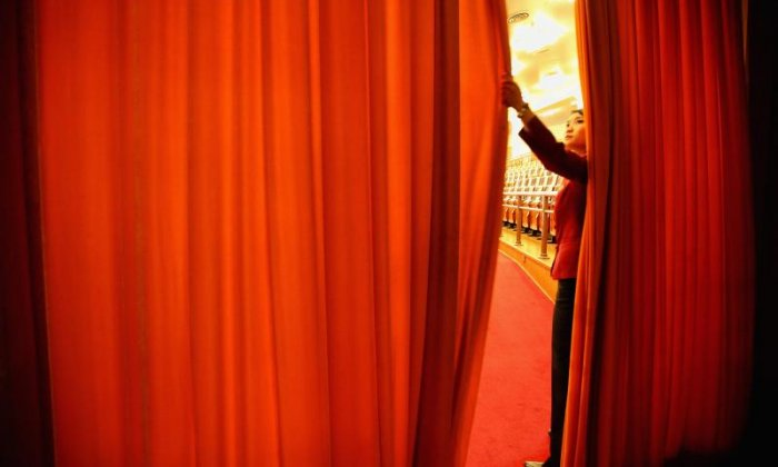 The Big Debate on curtains: 'What should a curtain be made of? Glass, Cem-tex or beef?'