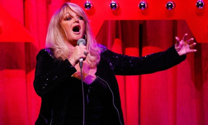 Bonnie Tyler dominates charts after total solar eclipse