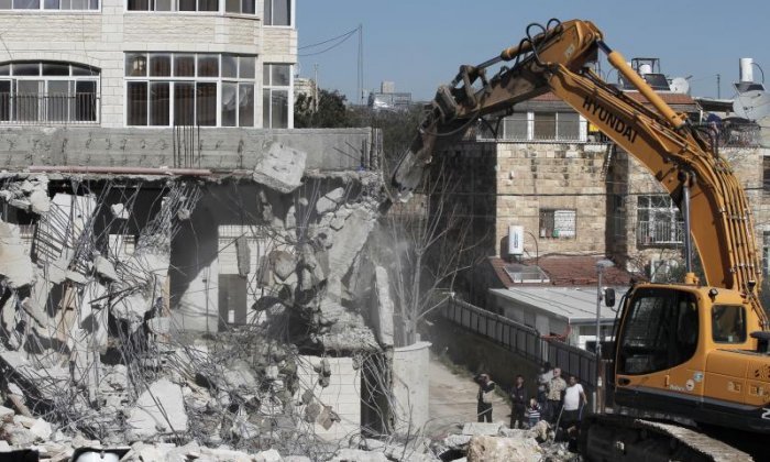 Residents claim Israel is destroying Palestinian houses with little warning