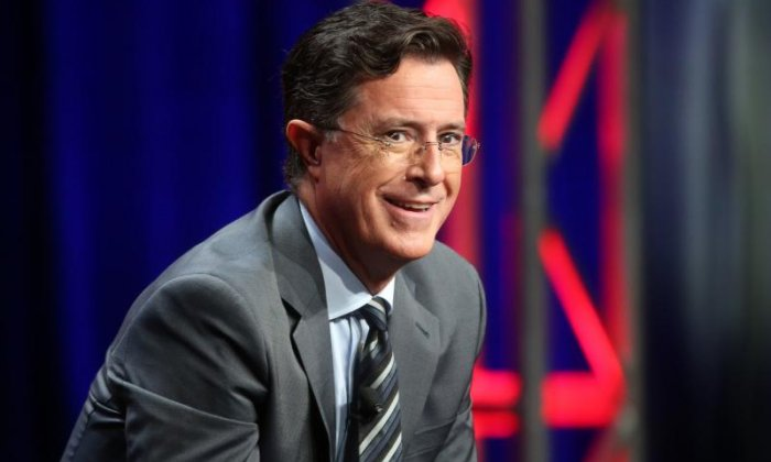 Stephen Colbert mocks Donald Trump with opening monologue on the Late Show