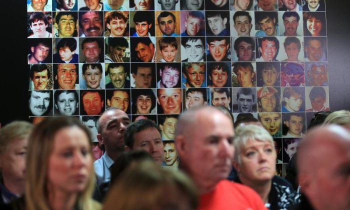 Five to appear in court to face charges relating to Hillsborough