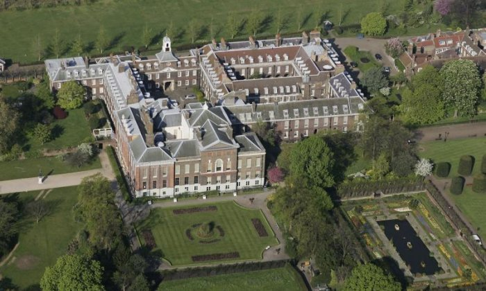 Acid attack yards from Kensington Palace