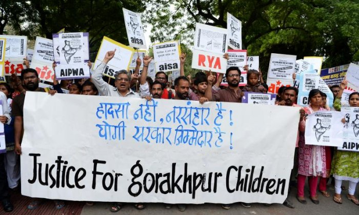 Authorities deliver oxygen to hospital in India after outrage over child deaths