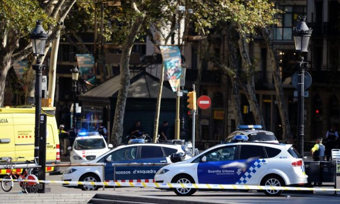 Van ploughs into crowds in Barcelona
