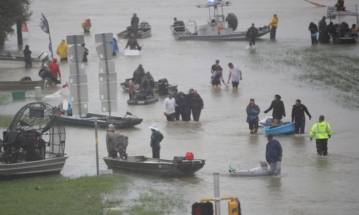 Rescues from Texas floods