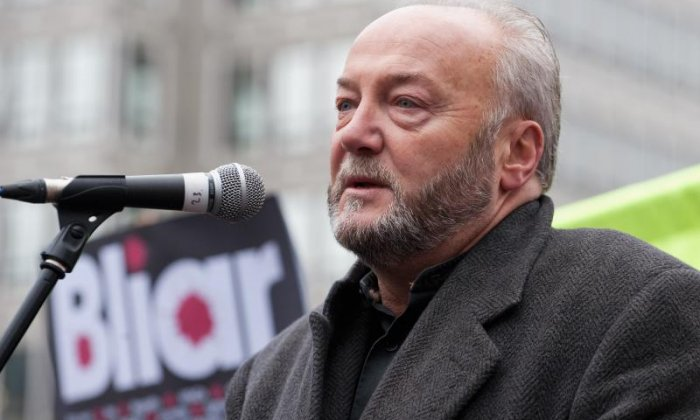 Galloway is one of Tony Blair's fiercest critics