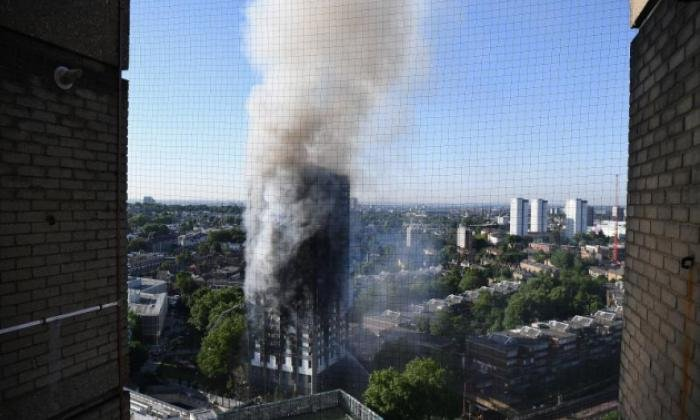 Grenfell Tower burst into flames in the middle of June