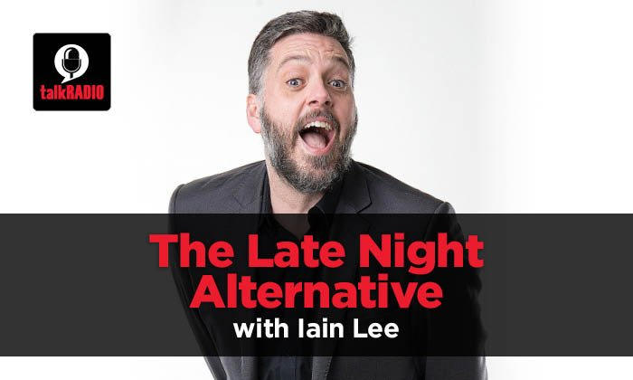 The Late Night Alternative with Iain Lee: Numberplates - Thursday, August 17