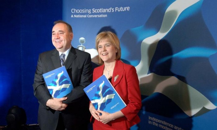 Salmond said Scotland will be ready for a new independence vote after Brexit