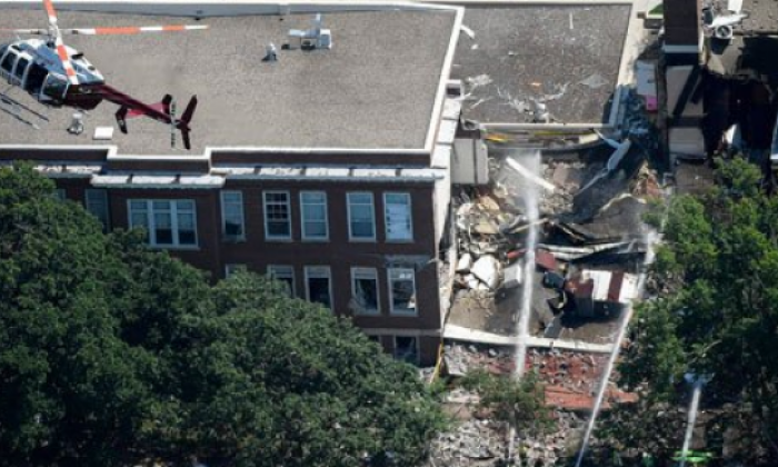 3 missing, 5 injured after gas explosion at Minneapolis school