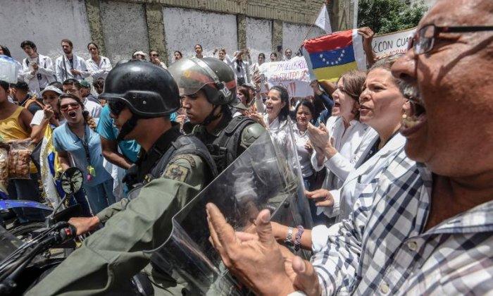 Venezuelan police arrest two opposition leaders - relatives