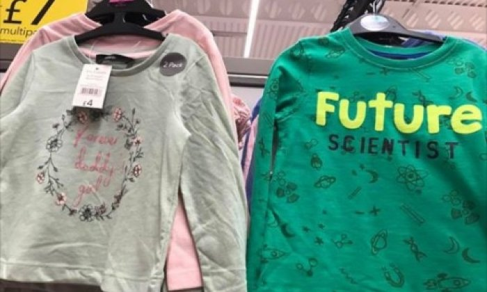 7029a9e1542 Cheshire mum's Facebook post about 'sexist' Asda kids' clothes goes ...