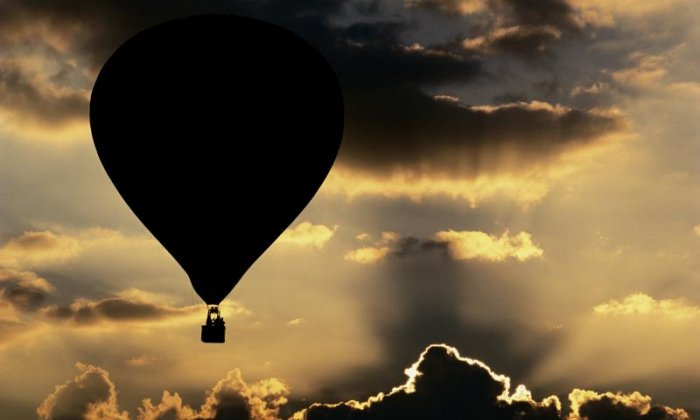 Rescue off the coast of Scotland after crossing the Atlantic in a hot air balloon