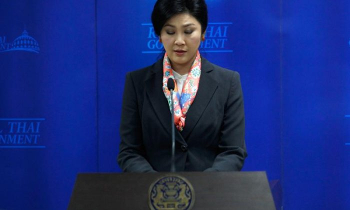 Yingluck says she'll stay out of politics