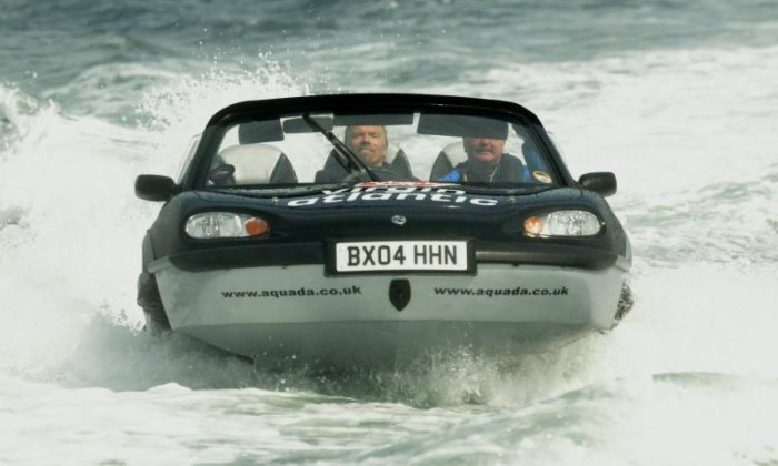 Crossing the English Channel in a car (well, sort of)