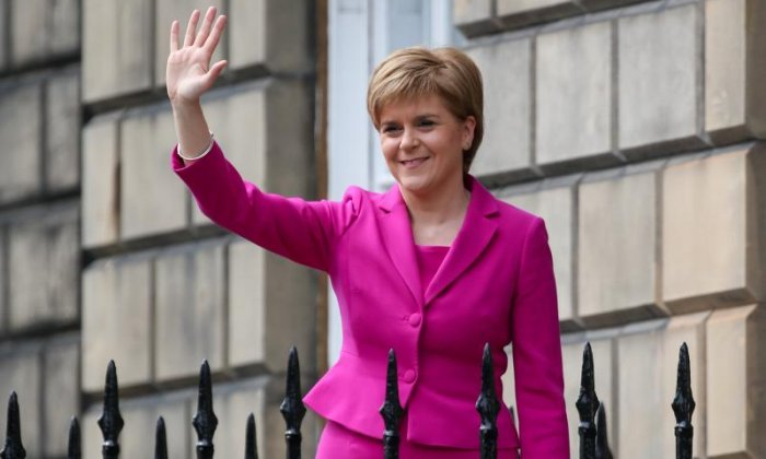 'Theresa May is likely to lift the public sector pay cap, but not as a result of Nicola Sturgeon'