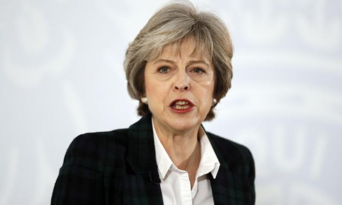 Brexit: Theresa May insists UK remains committed to defence of Europe after leaving EU