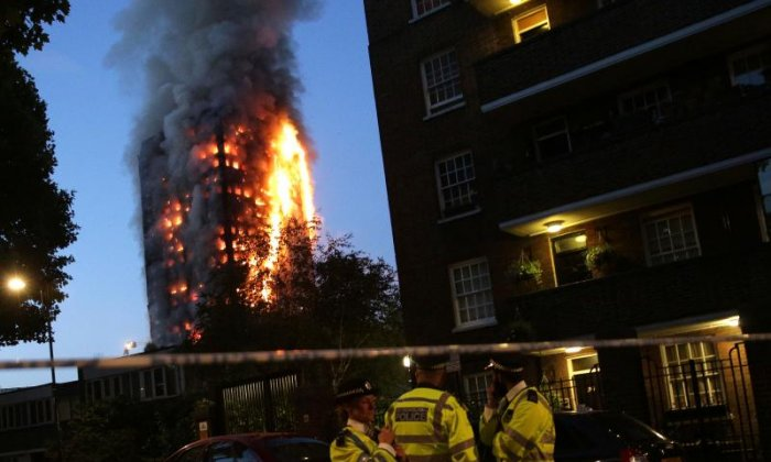 Prince William and Prince Harry Visit Grenfell Tower Inferno Victims