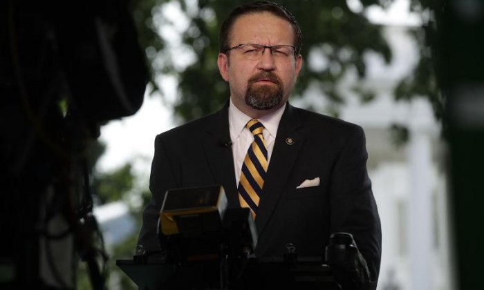 Sebastian Gorka praised Donald Trump on Sam Delaney's show