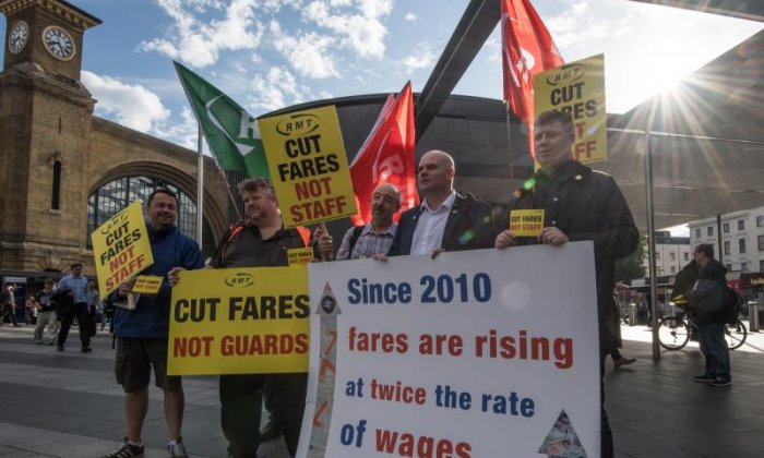 Support for RMT strikes across Southern and Merseyrail workers 'solid' in driver-only trains dispute