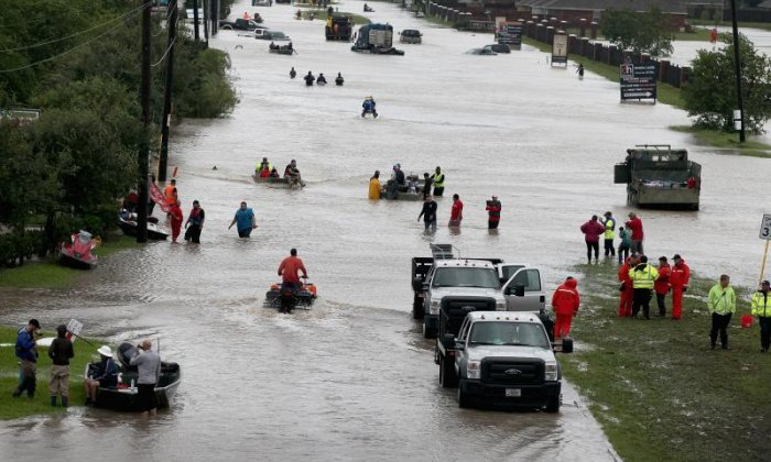 Evangelical leaders blame LGBT community for Storm Harvey