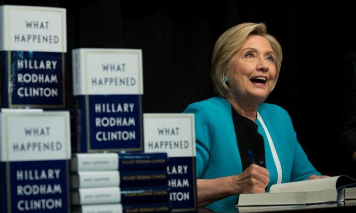 Donald Trump blasts Hillary Clinton over her new book about 2016 election