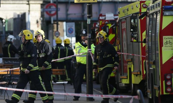 Parsons Green: 'Hundreds of people were shouting run for your life and ducking in case of gunfire'
