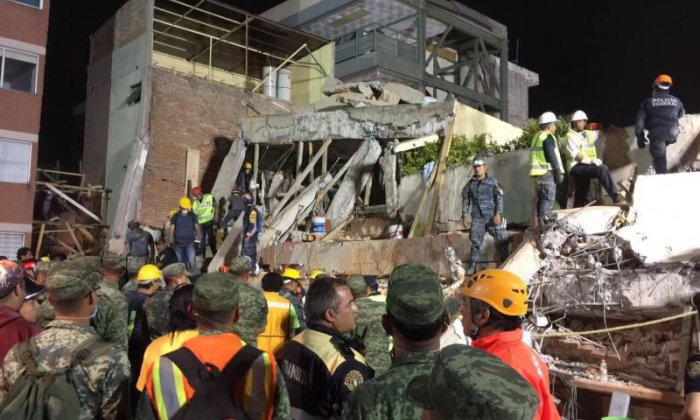 Major earthquake strikes in central Mexico, only weeks after Chiapas tremor